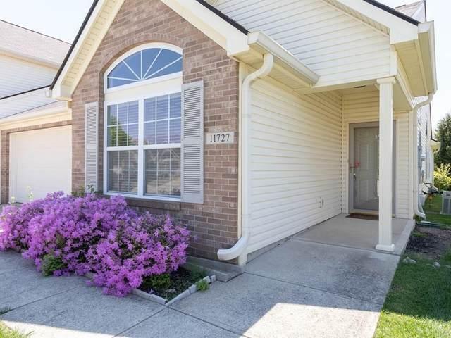 11727 Whisper Cove Drive 21B, Fishers, IN 46037 (MLS #21708925) :: The ORR Home Selling Team