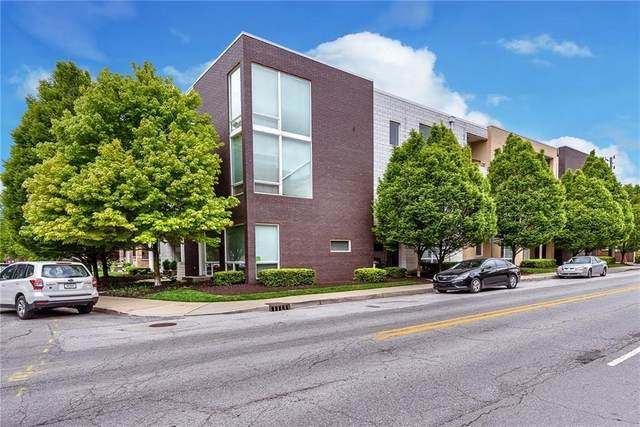 932 N Broadway Street #4, Indianapolis, IN 46202 (MLS #21709084) :: The Indy Property Source