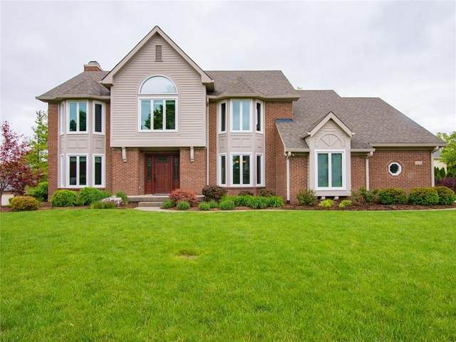 12122 Kingfisher Circle, Indianapolis, IN 46236 (MLS #21709133) :: The Indy Property Source