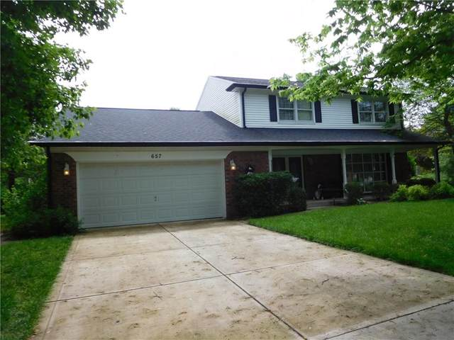 657 Echo Bend Boulevard, Greenwood, IN 46142 (MLS #21709148) :: Heard Real Estate Team   eXp Realty, LLC