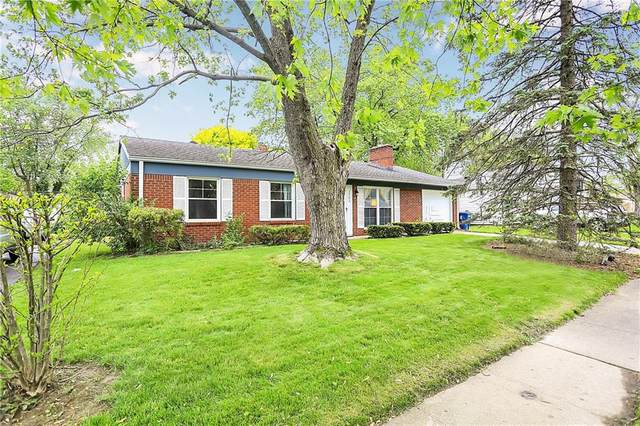 3702 Marseille Road, Indianapolis, IN 46226 (MLS #21709201) :: The Indy Property Source