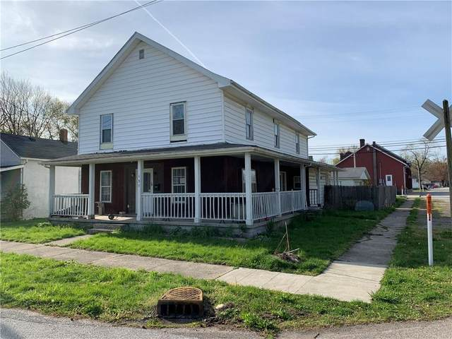 137 W Brown Street, Knightstown, IN 46148 (MLS #21709252) :: The Indy Property Source