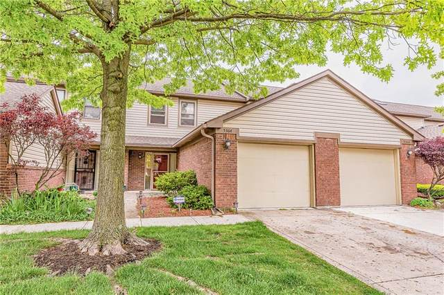 5364 Bay Harbor Drive, Indianapolis, IN 46254 (MLS #21709258) :: AR/haus Group Realty