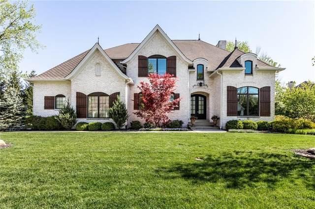 218 Willowrun Way, Indianapolis, IN 46260 (MLS #21709309) :: Anthony Robinson & AMR Real Estate Group LLC