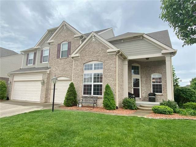351 Prebster Drive, Brownsburg, IN 46112 (MLS #21709342) :: The Indy Property Source