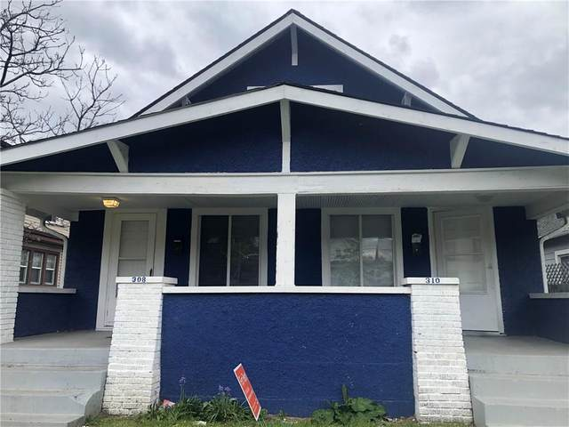 308 N Colorado Avenue, Indianapolis, IN 46201 (MLS #21709357) :: The Indy Property Source