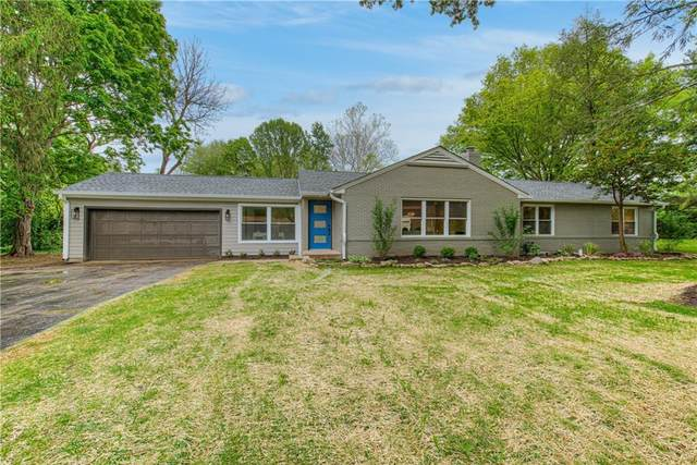 8605 Manderley Drive, Indianapolis, IN 46240 (MLS #21709366) :: The Indy Property Source