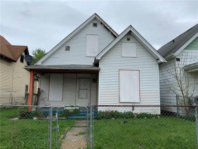 341 N Holmes Avenue, Indianapolis, IN 46222 (MLS #21709473) :: The Indy Property Source