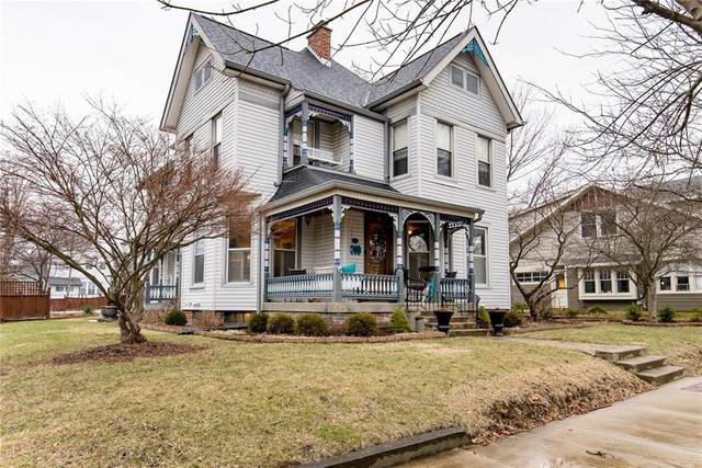 1408 Logan Street, Noblesville, IN 46060 (MLS #21709555) :: Anthony Robinson & AMR Real Estate Group LLC