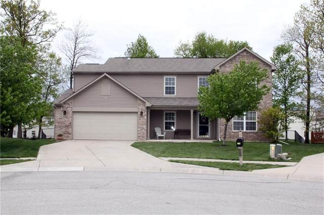 5161 Gray Wood Court, Indianapolis, IN 46235 (MLS #21709619) :: The Indy Property Source