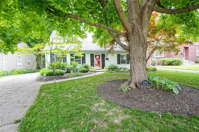 5012 N Graceland Avenue, Indianapolis, IN 46208 (MLS #21709739) :: Anthony Robinson & AMR Real Estate Group LLC