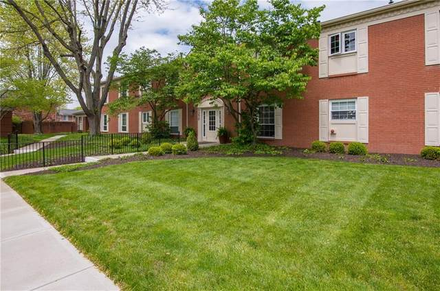 7370 Lions Head Drive D, Indianapolis, IN 46260 (MLS #21709742) :: The ORR Home Selling Team