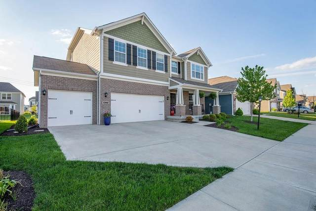 6362 Silver Leaf Drive, Zionsville, IN 46077 (MLS #21709748) :: The Indy Property Source