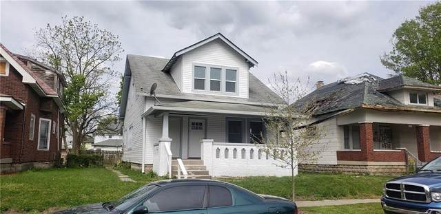 118 N Linwood, Indianapolis, IN 46201 (MLS #21709773) :: The Indy Property Source