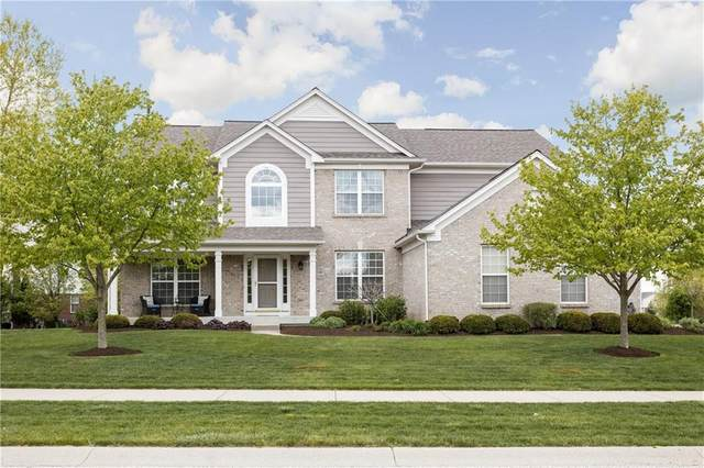 4876 Pebblepointe Pass, Zionsville, IN 46077 (MLS #21709815) :: Anthony Robinson & AMR Real Estate Group LLC