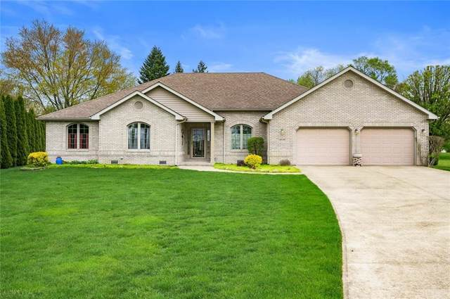 14132 Katriene Circle, Daleville, IN 47334 (MLS #21709896) :: The ORR Home Selling Team