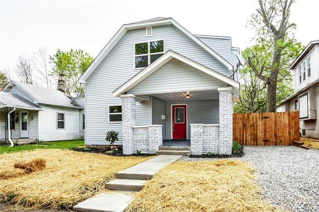 605 N Euclid Avenue, Indianapolis, IN 46201 (MLS #21710013) :: Anthony Robinson & AMR Real Estate Group LLC