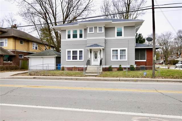 801 E 46th Street, Indianapolis, IN 46205 (MLS #21710088) :: The Indy Property Source