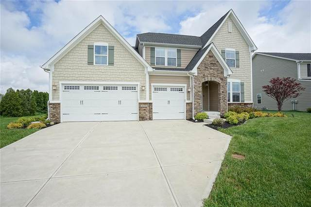 4550 Avedon Way, Zionsville, IN 46077 (MLS #21710118) :: The Indy Property Source