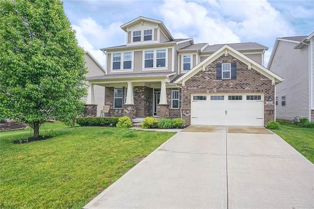 7825 Ringtail Circle, Zionsville, IN 46077 (MLS #21710145) :: The Evelo Team