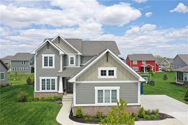 3600 Shady Lake Drive, Westfield, IN 46074 (MLS #21710192) :: The Indy Property Source