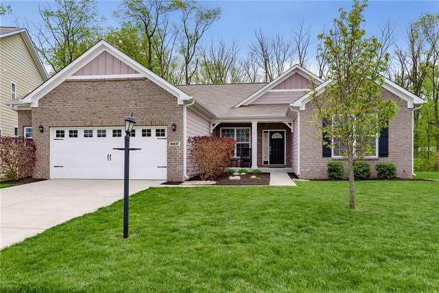 6437 Silver Maple Way, Zionsville, IN 46077 (MLS #21710230) :: The Indy Property Source