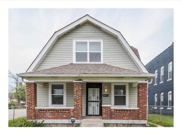 834 W Roache Street, Indianapolis, IN 46208 (MLS #21710264) :: The Indy Property Source