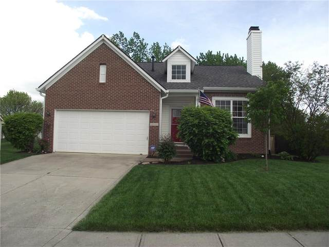 3401 Pearcrest Way, Greenwood, IN 46143 (MLS #21710569) :: The ORR Home Selling Team
