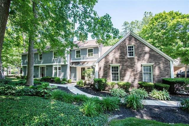 35 Raintree Drive, Zionsville, IN 46077 (MLS #21710600) :: Anthony Robinson & AMR Real Estate Group LLC