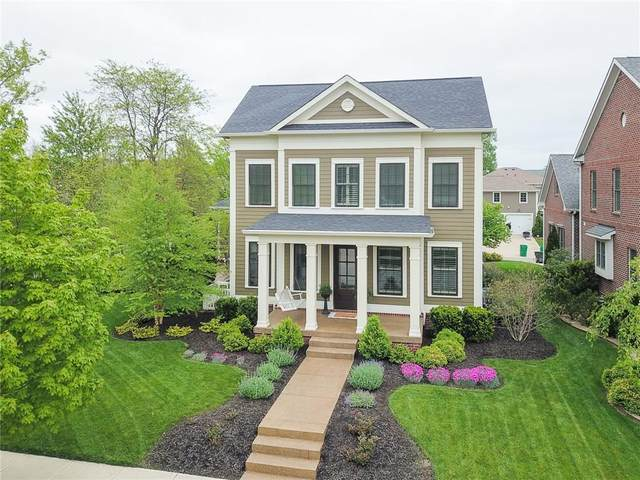 6605 Regents Park Drive, Zionsville, IN 46077 (MLS #21710660) :: The Indy Property Source