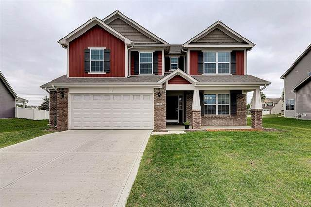 7422 Frolic Drive, Brownsburg, IN 46112 (MLS #21710699) :: The Indy Property Source
