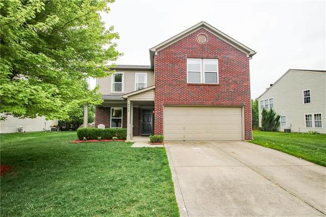 9923 Olympic Circle, Indianapolis, IN 46234 (MLS #21710778) :: Anthony Robinson & AMR Real Estate Group LLC