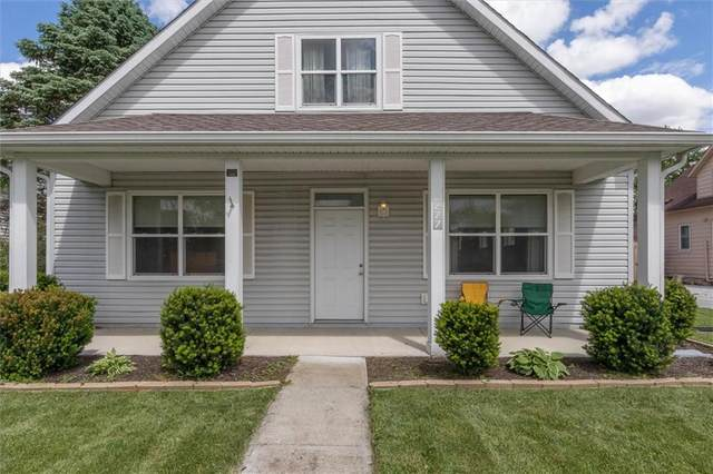277 N Center Street, Plainfield, IN 46168 (MLS #21710779) :: The Indy Property Source