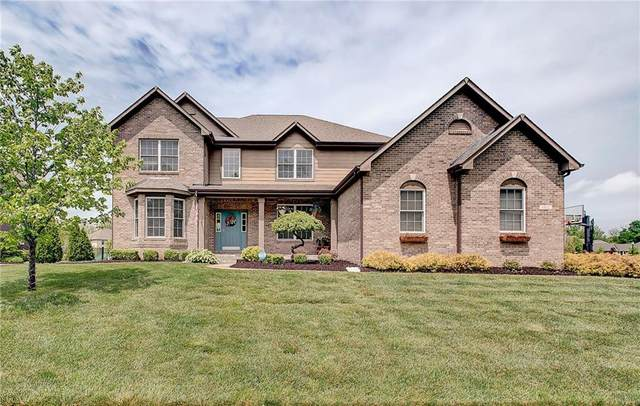 6822 W Thornebush Drive, Mccordsville, IN 46055 (MLS #21710805) :: The Evelo Team