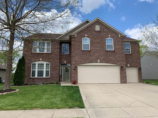 5834 W Port Drive, Mccordsville, IN 46055 (MLS #21710813) :: The Evelo Team