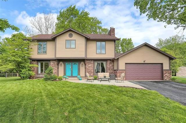 8312 Heron Court, Indianapolis, IN 46256 (MLS #21710816) :: The Evelo Team