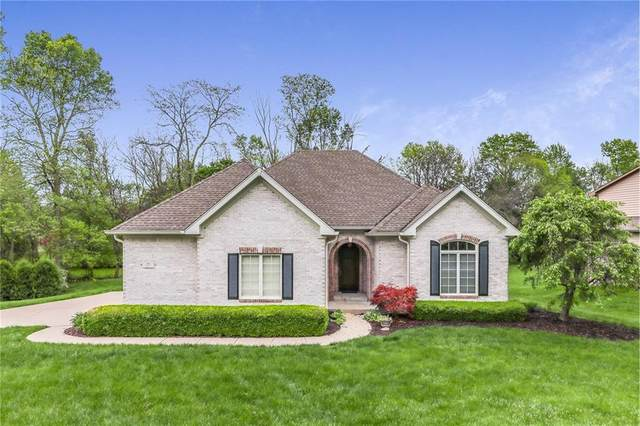 199 Ripplewood Drive, Greenwood, IN 46142 (MLS #21710820) :: The Indy Property Source