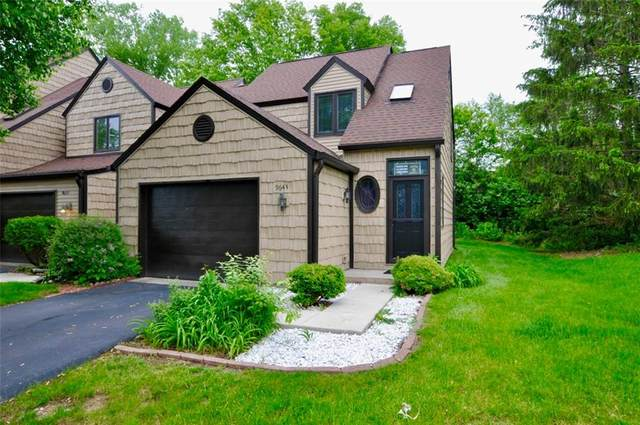9643 Highgate Circle N, Indianapolis, IN 46250 (MLS #21710826) :: The ORR Home Selling Team