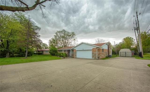 7113 E 56th Street, Indianapolis, IN 46226 (MLS #21710854) :: Mike Price Realty Team - RE/MAX Centerstone