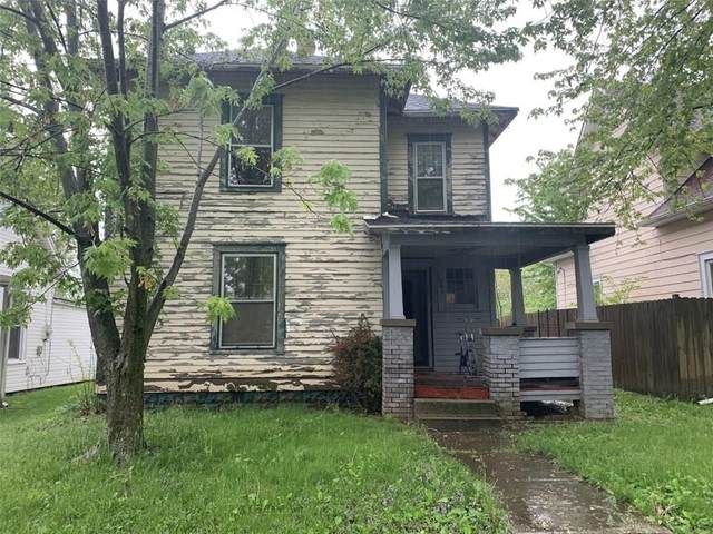 1507 S 17th Street, New Castle, IN 47362 (MLS #21710857) :: The Indy Property Source