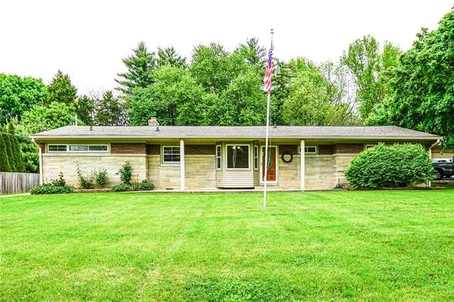 3342 Hillcrest Drive, Indianapolis, IN 46227 (MLS #21710966) :: The Indy Property Source