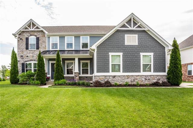 12277 Wheathill Pass, Fishers, IN 46037 (MLS #21711009) :: The Evelo Team