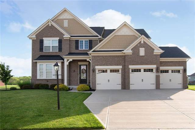 9930 Copper Saddle Bend, Fishers, IN 46040 (MLS #21711021) :: AR/haus Group Realty