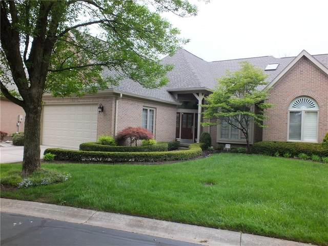 1872 Broadleaf Court, Greenwood, IN 46143 (MLS #21711044) :: The ORR Home Selling Team