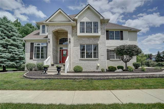 7639 Spring Ridge Drive, Indianapolis, IN 46278 (MLS #21711086) :: The ORR Home Selling Team