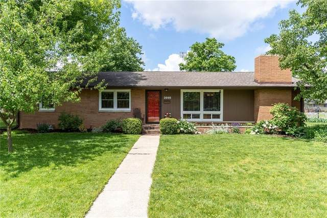 2698 Meadowlark Lane, Columbus, IN 47201 (MLS #21711107) :: The Indy Property Source