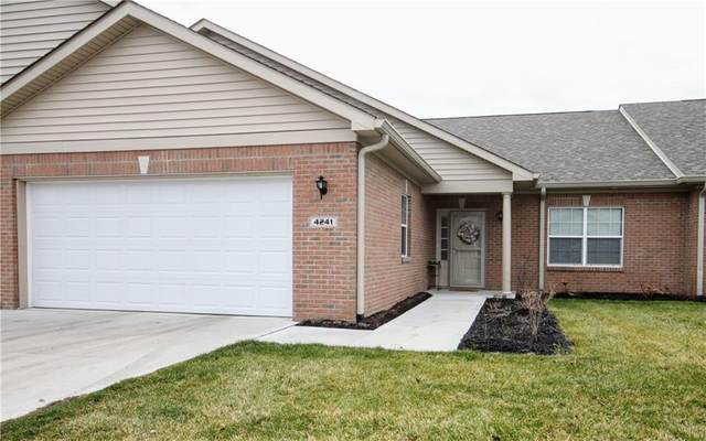 4241 Payne Drive #7, Plainfield, IN 46168 (MLS #21711127) :: The Indy Property Source
