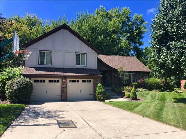 302 Hickory Drive, Greenfield, IN 46140 (MLS #21711142) :: The Indy Property Source