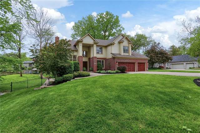 7856 Spring Mill Road, Indianapolis, IN 46260 (MLS #21711171) :: The Indy Property Source