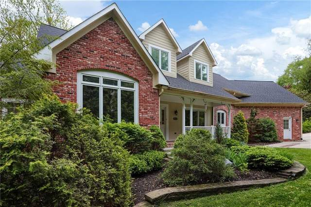 645 Mulberry Street, Zionsville, IN 46077 (MLS #21711190) :: The Indy Property Source